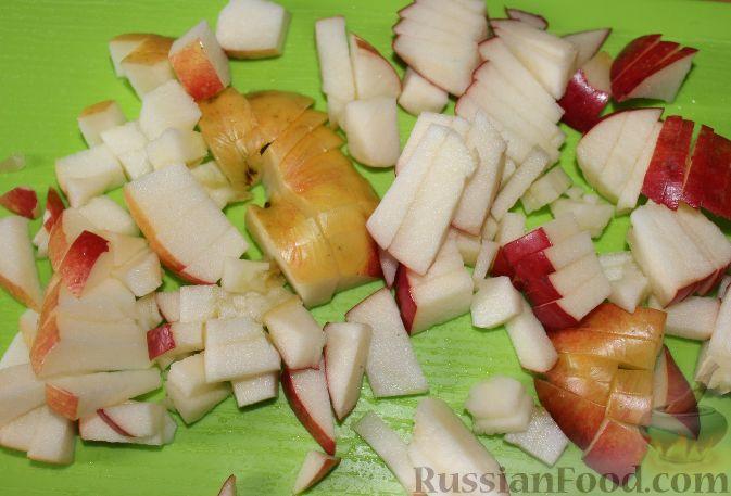 Фото приготовления рецепта: Суп с куриными фрикадельками и вермишелью - шаг №12