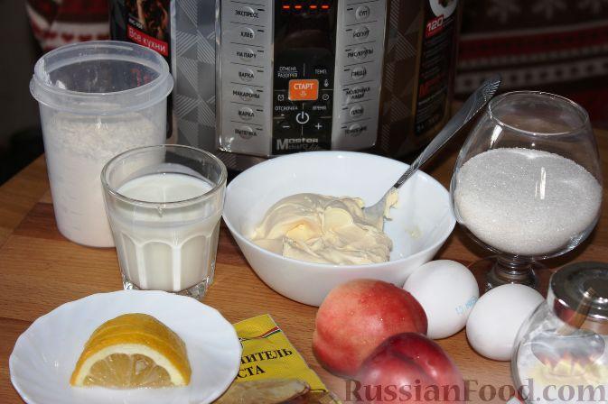 Фото приготовления рецепта: Карамельный кекс на кефире (в мультиварке) - шаг №1