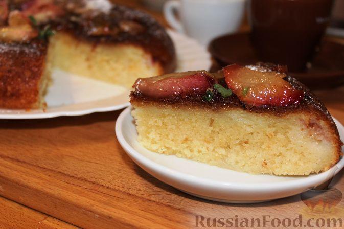 Фото приготовления рецепта: Карамельный кекс на кефире (в мультиварке) - шаг №14