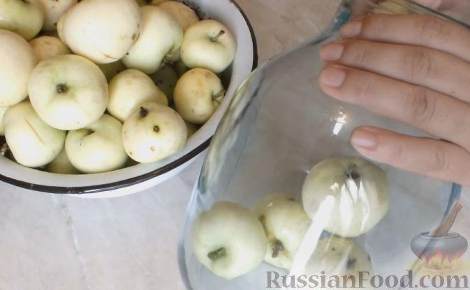 как приготовить компот из целых яблок на зиму