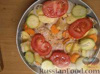 Фото приготовления рецепта: Курица с овощами - шаг №4