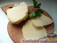 Фото к рецепту: Домашний твердый сыр