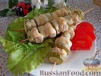 Фото к рецепту: Люля-кебаб с кабачками