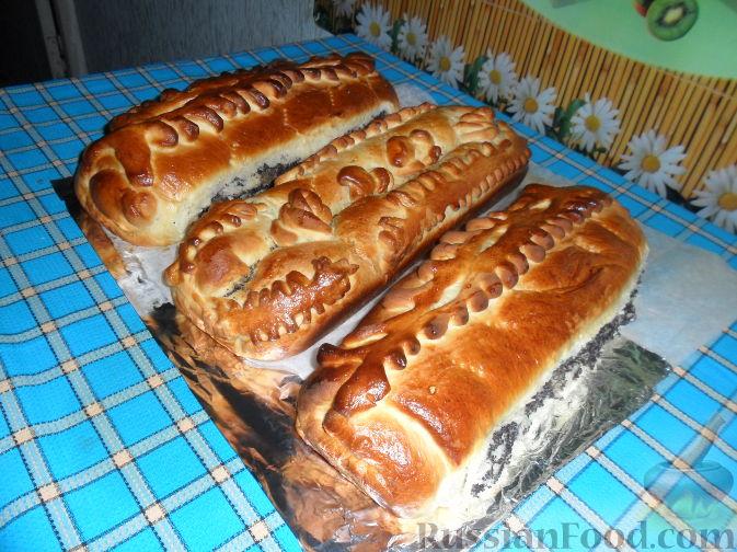 Рецепт Рулет с маком и изюмом