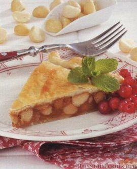 Рецепт Закрытый пирог с орехами