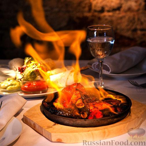 Рецепт Испанский Фахитос с мясом