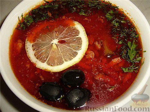 рецепт приготовления солянки пошагово