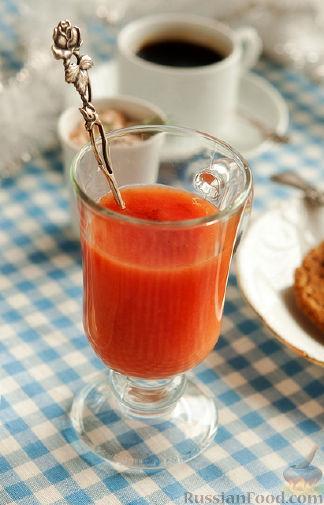 Рецепт Грейпфрутовый кисель с ванилью