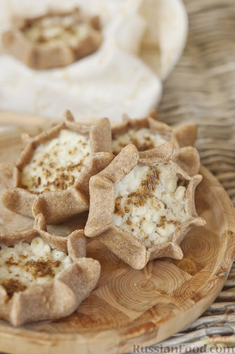 Рецепт Калитки (карельские пирожки)