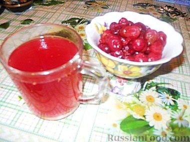 Рецепт Кисель из клюквы