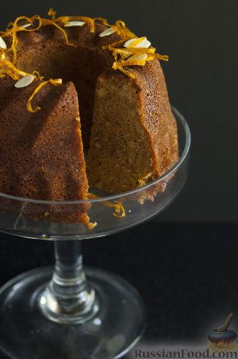 Рецепт Апельсиново-миндальный кекс