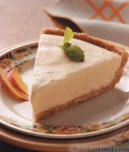 Рецепт Персиковый пирог-мороженое