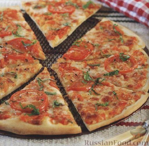 пицца рецепт с дрожжами свежими
