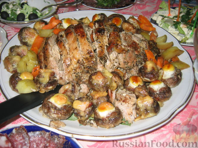 Рецепт Запеченная грудка индейки
