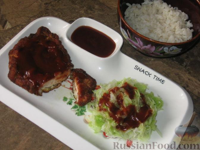 Рецепт Тонкацу - отбивная по-японски