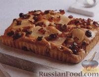 Фото к рецепту: Плоский хлеб с картофелем, клюквой и беконом