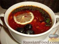 Фото к рецепту: Солянка мясная (с почками)