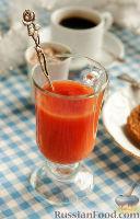 Фото к рецепту: Грейпфрутовый кисель с ванилью