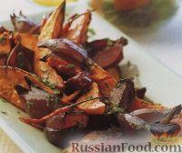 Фото к рецепту: Овощи, запеченные под острым соусом