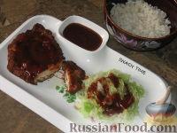 Фото к рецепту: Тонкацу - отбивная по-японски