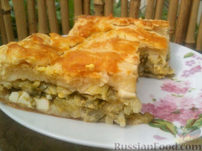 рецепт кулебяки с капустой в духовке пошаговый