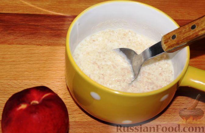 молочная каша с фруктами рецепт