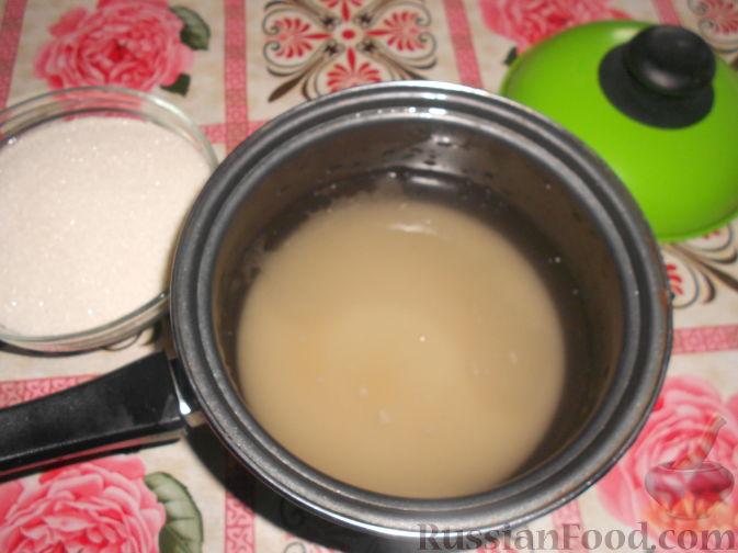 Фото приготовления рецепта: Варенье из черешни с косточками - шаг №4