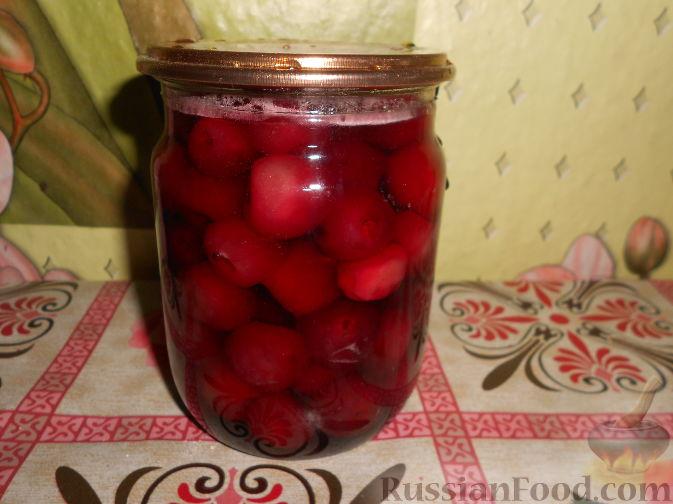 Фото приготовления рецепта: Варенье из черешни с косточками - шаг №13