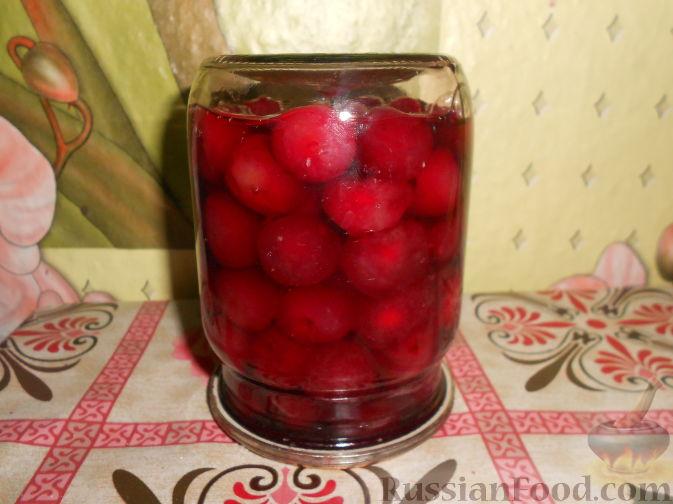 Фото приготовления рецепта: Варенье из черешни с косточками - шаг №15