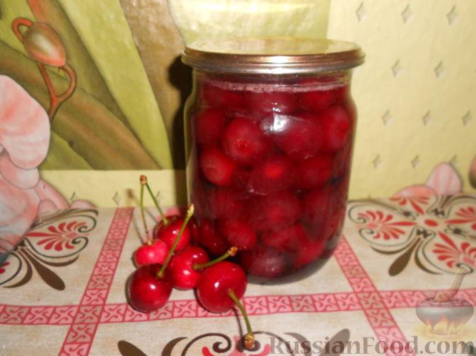 Фото приготовления рецепта: Варенье из черешни с косточками - шаг №17