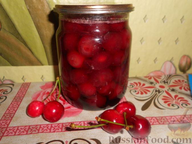 Фото приготовления рецепта: Варенье из черешни с косточками - шаг №18