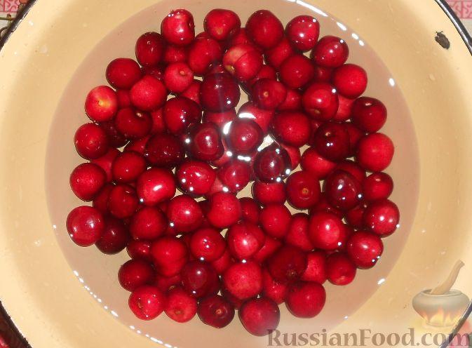 Фото приготовления рецепта: Варенье из черешни без косточек - шаг №2