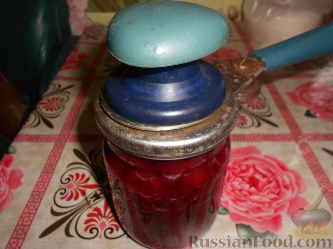 Фото приготовления рецепта: Варенье из черешни без косточек - шаг №15