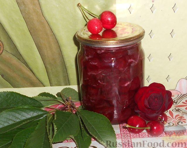 Фото приготовления рецепта: Варенье из черешни без косточек - шаг №19