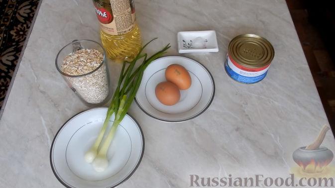 простой рецепт рыбных котлет из консервов