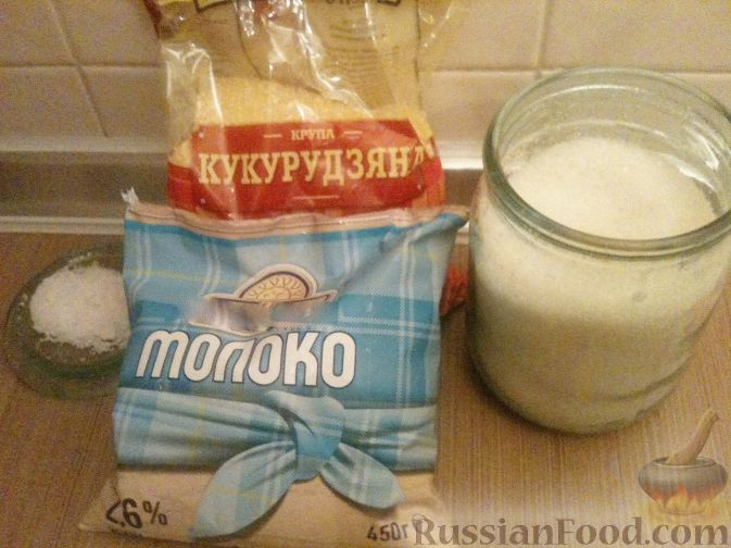 каша кукурузная рецепт