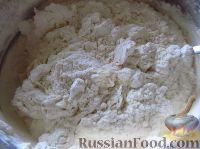 Фото приготовления рецепта: Самое правильное кефирное тесто для жареных пирожков - шаг №4