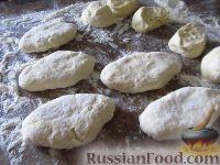 Фото приготовления рецепта: Самое правильное кефирное тесто для жареных пирожков - шаг №7