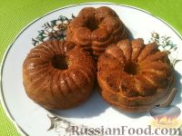Фото к рецепту: Кексы из кабачков