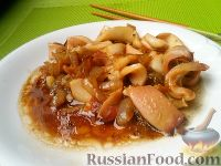 Фото к рецепту: Кальмары по-шанхайски
