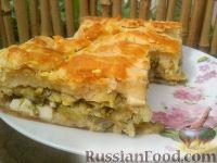 Фото к рецепту: Кулебяка с капустой