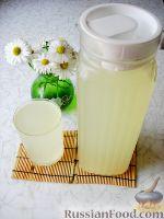 Фото к рецепту: Имбирно-лимонный квас