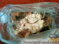 Фото приготовления рецепта: Шашлык из сома или налима - шаг №7