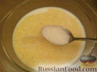 Фото приготовления рецепта: Каша кукурузная молочная - шаг №4