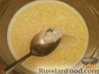 Фото приготовления рецепта: Каша кукурузная молочная - шаг №5