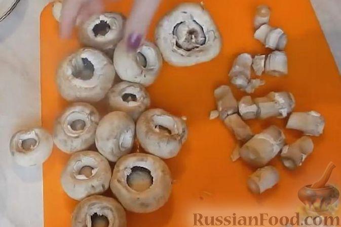 Как приготовить запеченные шампиньоны в духовке