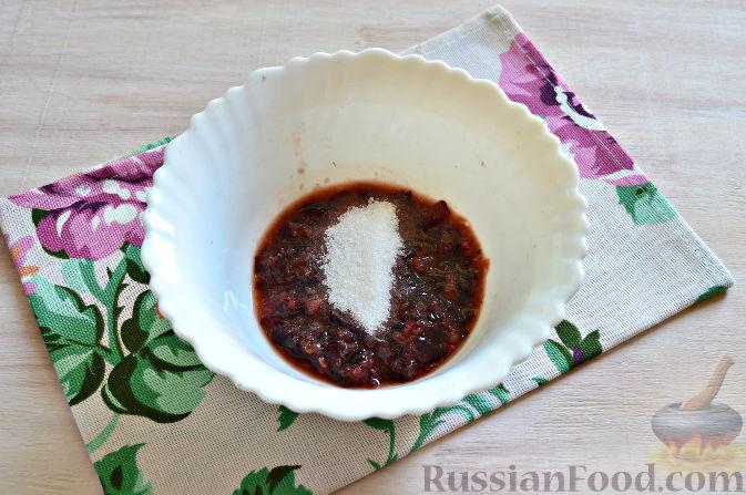 Фото приготовления рецепта: Сорбет из черешни - шаг №4