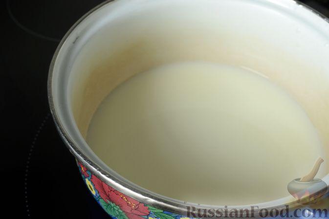 Фото приготовления рецепта: Дрожжевые пирожки-мешочки с картофелем, курицей и сыром - шаг №22
