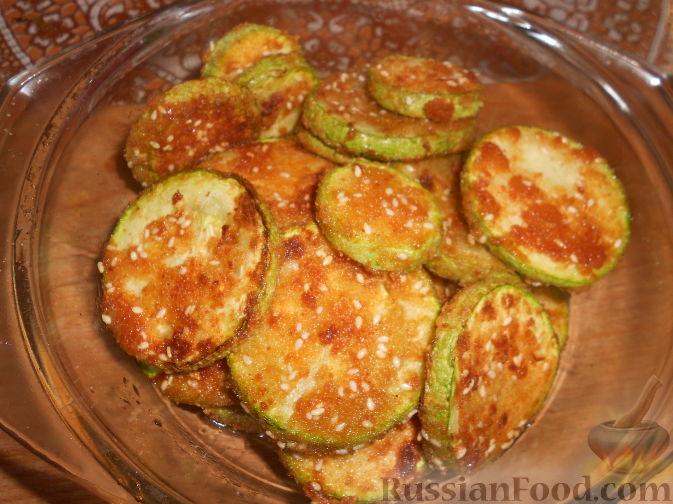 Кабачки жареные в сухарях рецепты с фото