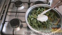 Фото приготовления рецепта: Стручковая фасоль с сыром - шаг №10